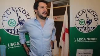 Bormio, Matteo Salvini: «L'immigrazione è fuori controllo»