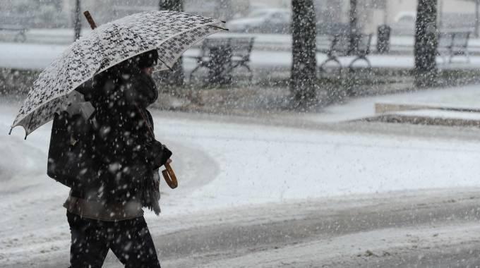 Arrivano Piogge e acquazzoni al Centro Sud,neve al Nord